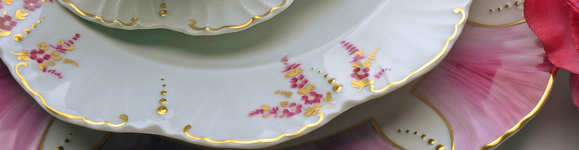 Ceramica Limoges Prezzi.Baroni Porcellane Porcellana Di Limoges Dipinta A Mano